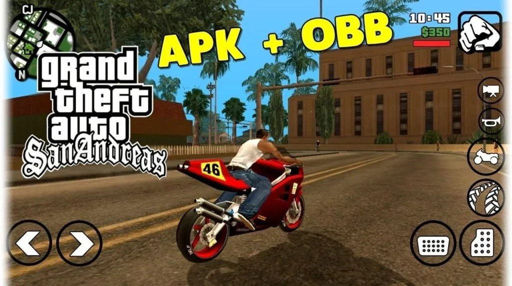 GTA San Andreas for android and pc